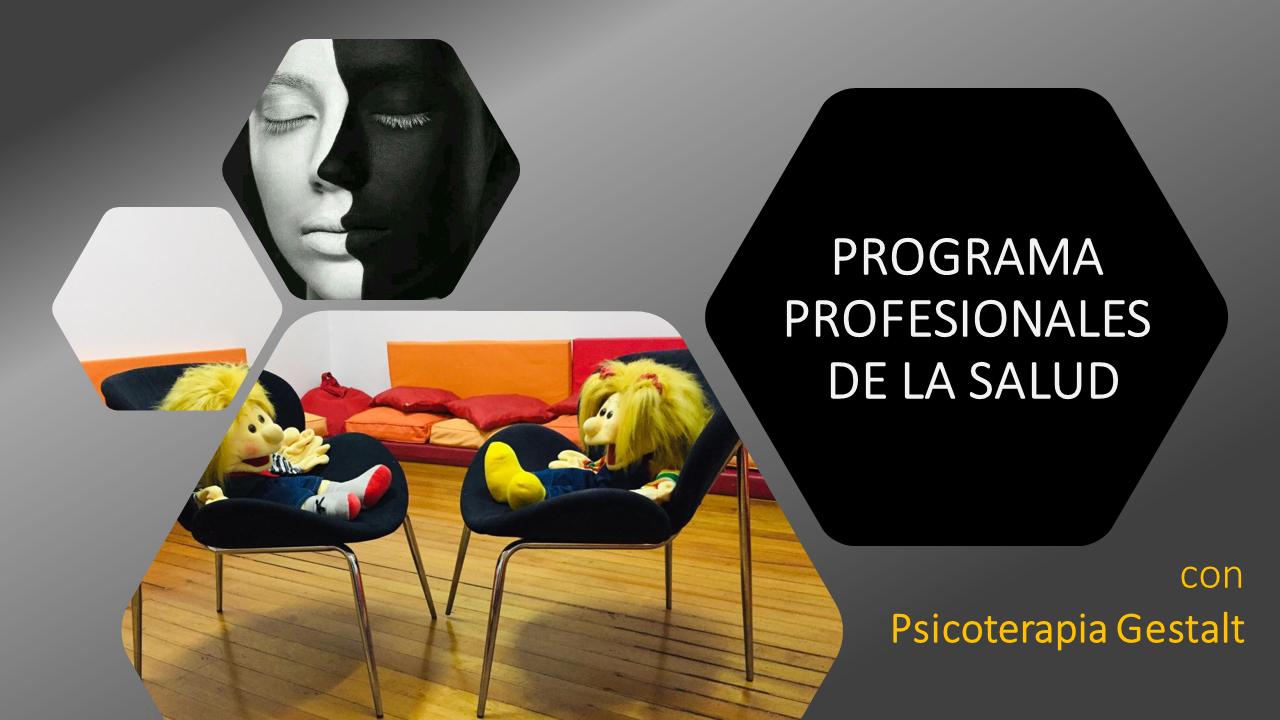 Programa PROFESIONALES DE LA SALUD Y SALUD MENTAL 2021